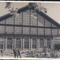Postales: MADRID.- OBRAS EN ESTACIÓN DE DELICIAS.- AÑO 1951. Lote 27535296