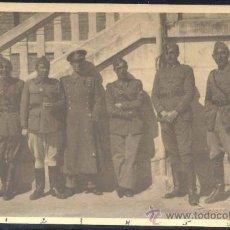 Postales: MADRID.- FOTOGRAFÍA EN PRADO DEL REY AÑO 1943. MIEMBROS DEL CUARTEL DE TRANSMISIONES. Lote 27535396