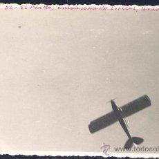 Postales: MADIRD.- POSTAL FOTOGRÁFICA AÑO 1934.-ANUNCIO AÉREO DE LA LOTERÍA EN FAVOR DE LA CIUDAD UNIVERSITARI. Lote 27535670