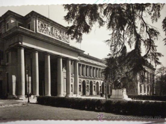 550 MUSEO DEL PRADO - MADRID - NO CIRCULADA - EDITOR : GARRABELLA - PRECIO DE OCASION !!! (Postales - España - Madrid Moderna (desde 1940))
