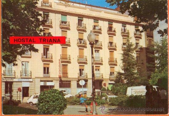 HOSTAL TRIANA *** CALLE SALUD , 13 - MADRID - ED. CELADA - AÑO 1974 (Postales - España - Madrid Moderna (desde 1940))