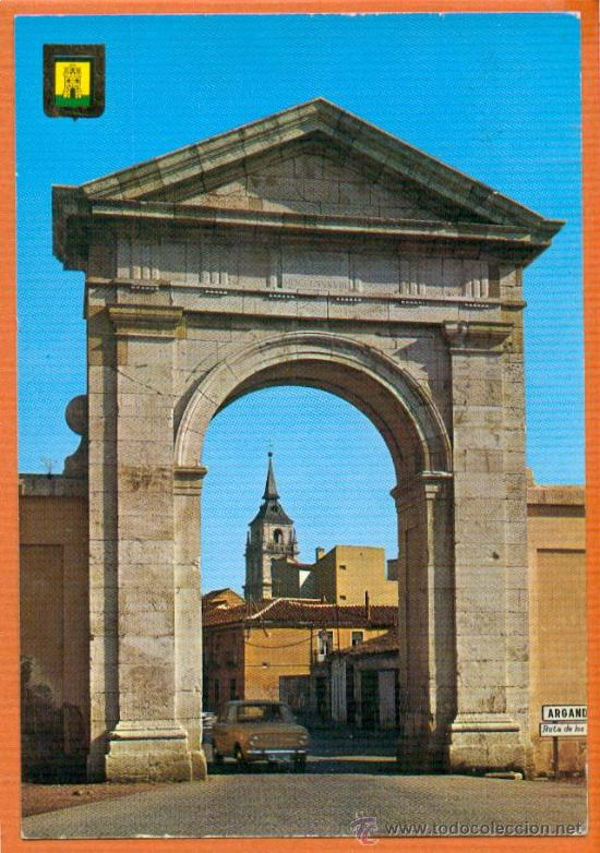 ALCALA DE HENARES - PUERTA DE MADRID - Nº 12 DOMINGUEZ - AÑOS 70 (Postales - España - Madrid Moderna (desde 1940))