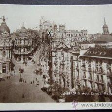 Postales: MADRID – AVD. CONDE PEÑALVER – SIN NOMBRE EDITORIAL. Lote 27827607