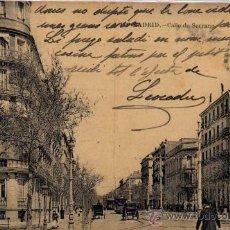 Postales: MADRID.- CALLE DE SERRANO. Lote 27851822