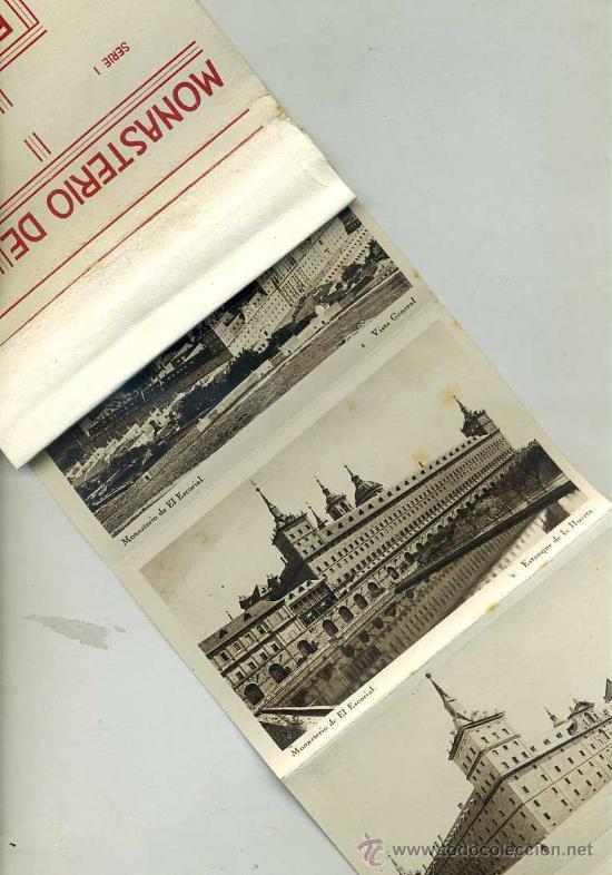 VEINTE POSTALES HAUSER Y MENET EL ESCORIAL (Postales - España - Comunidad de Madrid Antigua (hasta 1939))