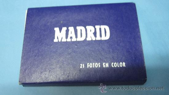 ACORDEON DE POSTALES ANTIGUAS DE MADRID, GARCIA GARRABELLA Y CIA (Postales - España - Madrid Moderna (desde 1940))