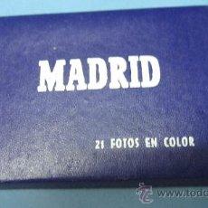 Postales: ACORDEON DE POSTALES ANTIGUAS DE MADRID, GARCIA GARRABELLA Y CIA. Lote 28072947