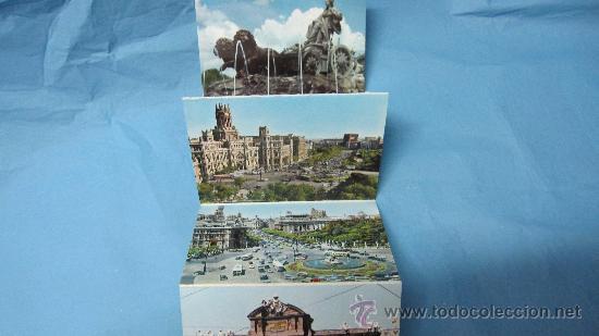 Postales: ACORDEON DE POSTALES ANTIGUAS DE MADRID, GARCIA GARRABELLA Y CIA - Foto 2 - 28072947