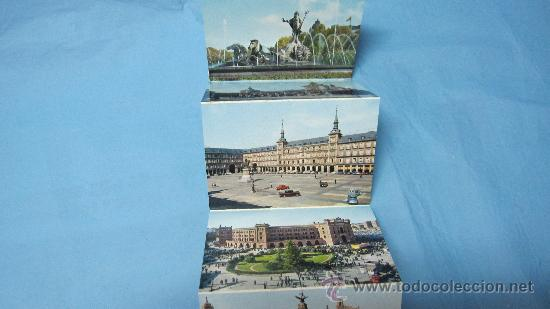Postales: ACORDEON DE POSTALES ANTIGUAS DE MADRID, GARCIA GARRABELLA Y CIA - Foto 3 - 28072947