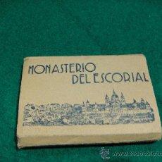 Postales: MONASTERIO DE EL ESCORIAL LIBRITO ACORDEON MINIATURA DE 18 POSTALES 5,5 X 2,5 CNTº. Lote 28187775
