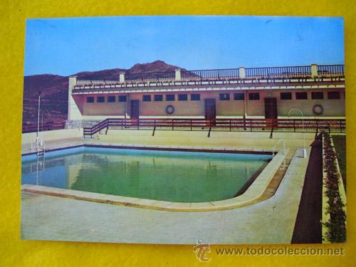 Antigua Postal : Residencia del Banco de España - Piscina y vestuarios - CERCEDILLA. 1965 segunda mano
