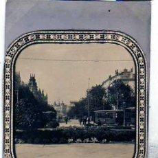 Postales: MADRID POSTAL FOTOGRÁFICA. Nº 898. CALLE DE ALCALÁ. TRANVIA AL FONDO. REVERSO INGLES. SIN CIRCULAR.. Lote 28306303