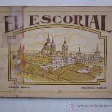 Postales: EL ESCORIAL. TOMAS MORA. PRIMERA SERIE. HELIOTIPIA ARTISTICA ESPAÑOLA. MADRID. Lote 28305998