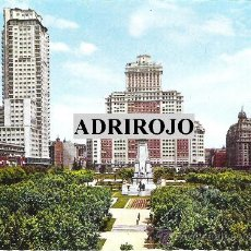 Postales: 1 POSTAL NO CIRCULADA - AÑOS 70 - MADRID - PLAZA DE ESPAÑA Y EDIFICIOS DE TORRE DE MADRID. Lote 28397094