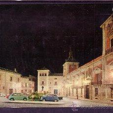 Postales: MADRID - PLAZA DE LA VILLA . Lote 28527350