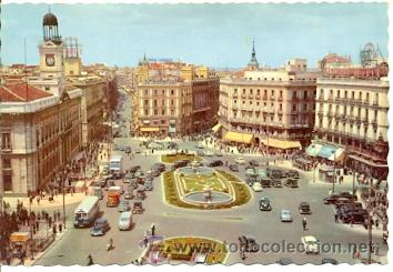 7-ESP868. POSTAL MADRID. PUERTA DEL SOL (Postales - España - Madrid Moderna (desde 1940))