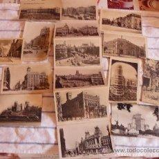 Postales: ONCE POSTALES DE MADRID ANTIGUAS EN BLANCO Y NEGO.. Lote 28599561