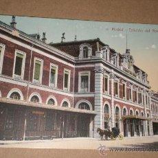 Postales: MADRID.- ESTACIÓN DEL NORTE.. Lote 28631860