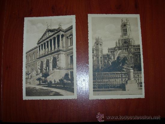 30 POSTALES DE MADRID SIN CIRCULAR (Postales - España - Comunidad de Madrid Antigua (hasta 1939))