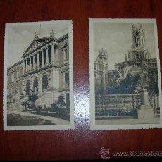 Postales: 30 POSTALES DE MADRID SIN CIRCULAR. Lote 28828474