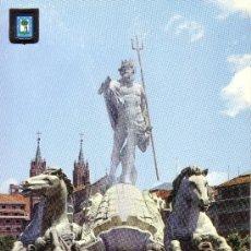 Postales: MADRID - FUENTE DE NEPTUNO. Lote 28840026