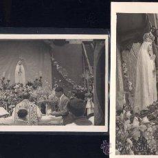 Postales: MADRID.- AÑO 1948-IGLESIA DE FATIMA CALLE ALCALÁ.MISA CONMEMORATIVA. Lote 28843564