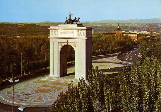 Madrid Arco Del Triunfo J L Gallego Comprar Postales De