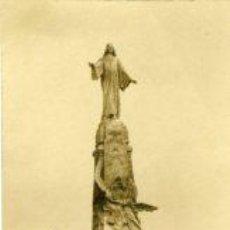 Postales: CERRO DE LOS ÁNGELES.- FOTOGRAFÍA DE UNO DE LOS PROYECTOS DE MONUMENTO AL SAGRADO CORAZÓN DE JESÚS . Lote 28976360