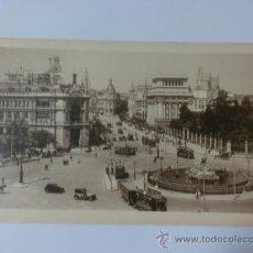 Postales: TARJETA POSTAL. MADRID. Nº2. BANCO DE ESPAÑA, LA CIBELES Y C. ALCALA. HELIOTIP. KALLMEYER Y GAUTIER.. Lote 28996372