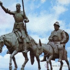 Postales: MADRID - MONUMENTO A CERVANTES. Lote 29031417