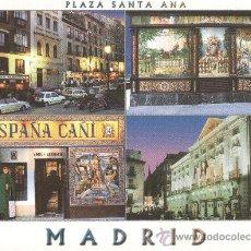Postales: MADRID PLAZA SANTA ANA. Lote 29164654