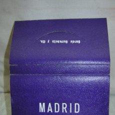 Postales: LIBRO POSTALES MADRID 21 FOTOS EN COLOR, POSTAL DE GARCIA GARRABELLA Y CIA. Lote 29215531