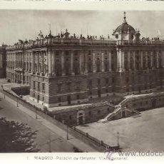 Postales: MADRID PALACIO REAL SIN CIRCULAR. Lote 29361494