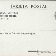 Postales: MADRID.- SERVICIO METEOROLOGICO NACIONAL. Lote 29418923