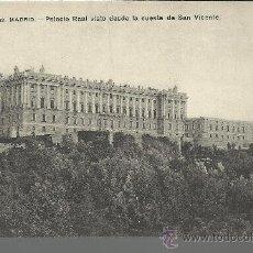 Postales: MADRID PALACIO REAL SIN CIRCULAR. Lote 29476379