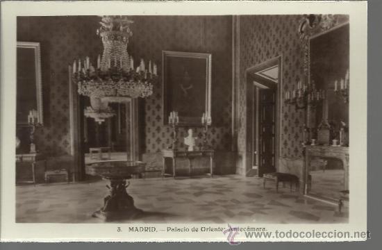 MADRID PALACIO REAL SIN CIRCULAR (Postales - España - Comunidad de Madrid Antigua (hasta 1939))