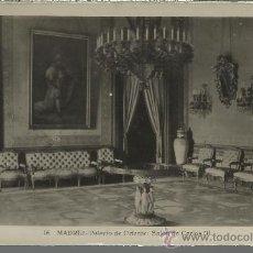 Postales: MADRID PALACIO REAL SIN CIRCULAR. Lote 29476418