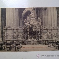 Postales: POSTAL ZARAGOZA, TRASCORO Y CRISTO DE LA SAO, SIN CIRCULAR. Lote 29641458