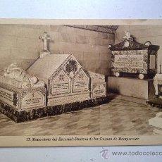 Postales: POSTAL MONASTERIO DEL ESCORIAL PANTEON DE LOS DUQUES DE MONTPENSIER SIN CIRCULAR . Lote 29645841