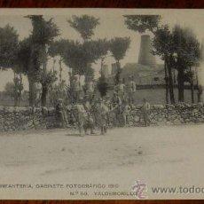 Postales: ANTIGUA POSTAL DE VALDEMORILLO (MADRID), ACADEMIA DE INFANTERIA, GABINETE FOTOGRAFICO 1910 - Nº 50, . Lote 29747163