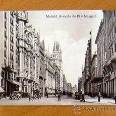 Postales: MADRID - AVENIDA DE PI Y MARGALL. Lote 29852456
