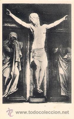 MONASTERIO DE EL ESCORIAL - CRISTO DE LAS BATALLAS, POR BENVENUTO CELLINI (Postales - España - Madrid Moderna (desde 1940))