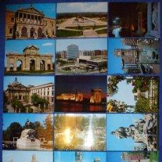 Postales: LOTE DE 21 POSTALES DE MADRID DEL AÑO 1973 - ¡SIN USO E IMPECABLES!. Lote 29937361