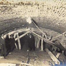 Postales: RRR - FOTO POSTAL ESPECTACULAR DEL METRO METROPOLITANO MADRID ALFONSO XIII AÑO 1918. Lote 30045275