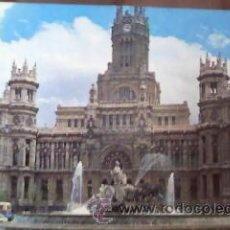 Postales: POSTAL DE LA CIBELES Y PALACIO DE TELECOMUNICACIONES.MADRID AÑOS 60/70. Lote 30084821