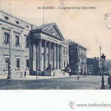 Postales: AÑO 1928: CONGRESO DE LOS DIPUTADOS. BONITA TARJETA POSTAL NUM. 19 DE GRAFOS CIRCULADA A FRANCIA.. Lote 30248105