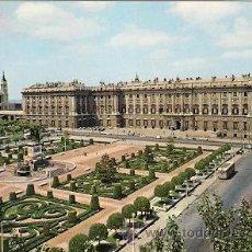 Postales: MADRID- PLAZA DE ORIENTE, PALACIO REAL. Lote 30268121