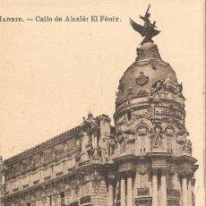Postales: MADRID - CALLE DE ALCALA EL FÉNIX - FOTOTIPIA J. ROIG - S/C. Lote 30324707