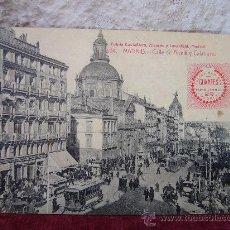 Postales: POSTAL DE MADRID - CALLE DE ALCALÁ Y CALATRAVAS - ALVAREZ Y LEVENFELD - FELISA RAMIREZ GUANTES. Lote 30475853