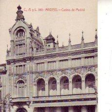 Postales: MADRID - CASINO DE MADRID. Lote 30531199